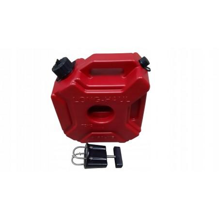 Kanister karnister do quada 5L zapasowy zbiornik paliwa + uchwyt